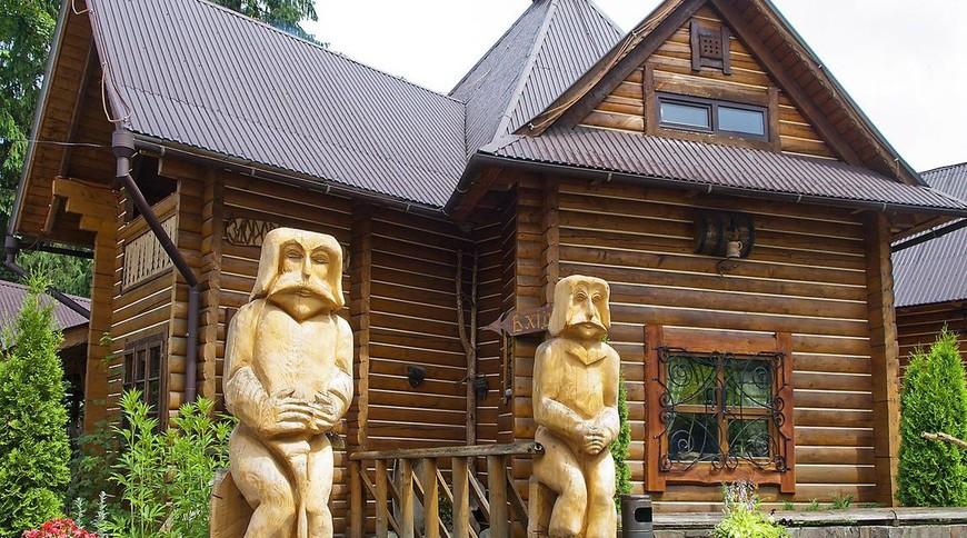 """Изображение отеля """"На Пеньках"""" #10"""