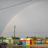 rainbow in the street v. Sedovo