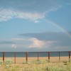 Rainbow above the Black Sea